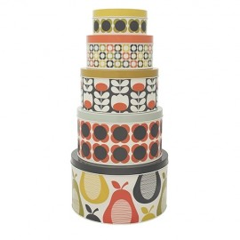 Orla Kiely Set of 5 Canisters