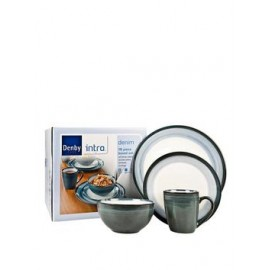 Denby Denim Intro Dinner Set