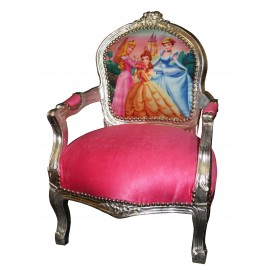 Kids French Armchair Princess Chair