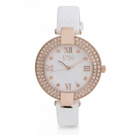 Guinness Ladies Watch White Strap