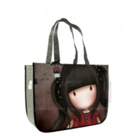 Gorjuss Large Shopping Bag - Ruby